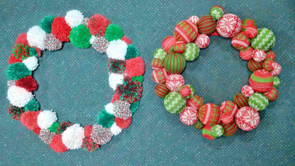 yarn-wreathes